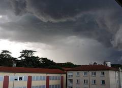 Orage Vernaison 69390 Magnifique