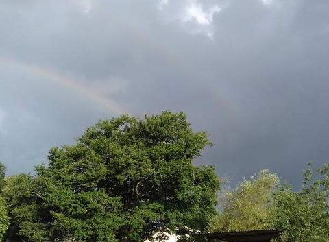 Double arc en ciel.