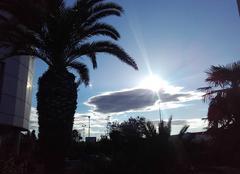 Ciel Toulon 83000 Stratocumulus matinal avec des envies de vacances.....