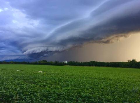 Superbe orage