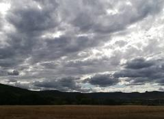 Ciel Salasc 34800 Après midi nuageux