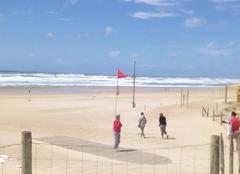 Vent Moliets-et-Maa 40660 Tempête à la plage