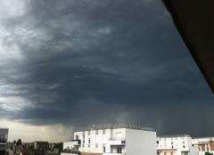 Ciel Chelles 77500 Arrivée d'orages