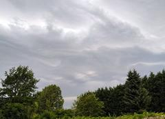 Nuages Anhiers 59194 Orages en approche