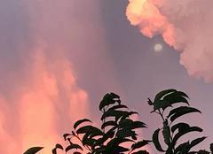 Ciel Vauciennes 60117 Levée de lune à VAUCIENNES