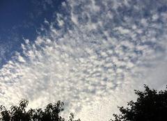 Nuages Aulnay-sous-Bois 93600 Nuages cotonneux dans le ciel