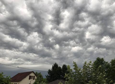 Ciel avent l'orage