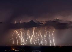 Orage Beaujeu 69430 Ambiances orageuses de l'ain