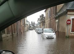 Pluie Saint-Andre-de-l'Eure 27220 Inondation