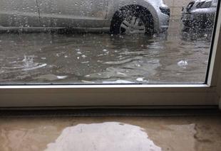 Orage Nantes 44200 Inondations