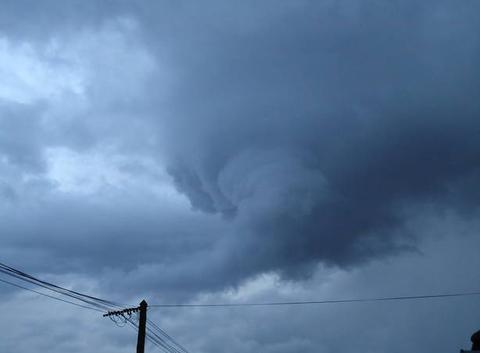 Formation d'un nuage de pluie