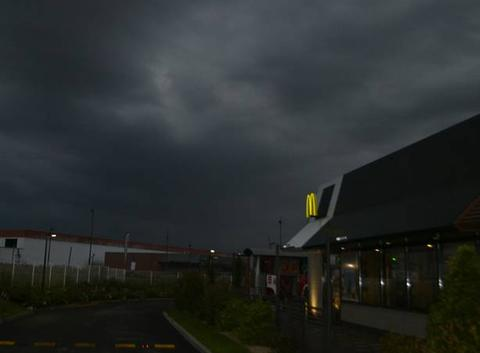 Juste avant l'orage
