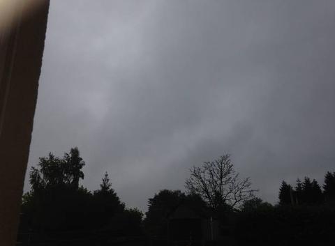 Vent pluie nuage gris à St Mars la Brière 72