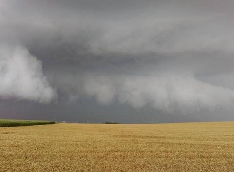 Gros orage en approche