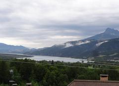 Nuages Saint-Sauveur 05200 Nuages sur lac de serre ponçon