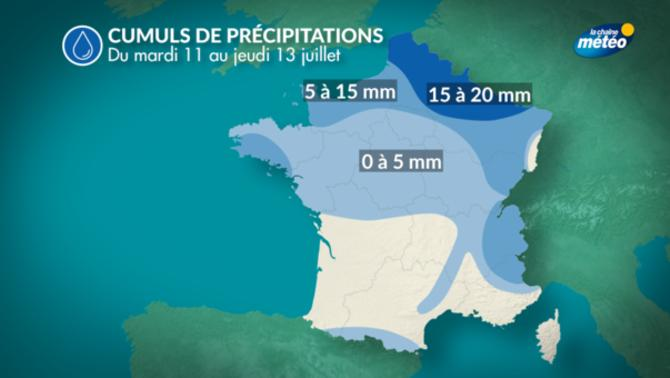 Actualit m t o aujourd 39 hui pluvieux au nord la - Meteo orleans demain ...