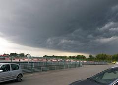Orage Le Vigeant 86150 évolution orage sud-vienne (86150) le 10 juillet