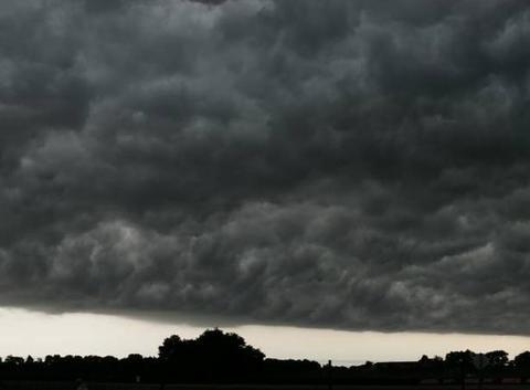 Evolution orage sud-vienne le 09/07/2017