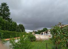 Nuages Saint-Remy 79410 Ciel gris