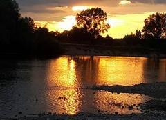 Ciel Belleville-sur-Loire 18240 Couché  soleil