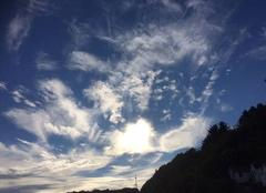 Nuages Barneville-Carteret 50270 Explosion de nuages