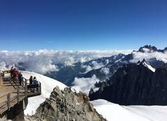 Ciel Chamonix-Mont-Blanc 74400 Aiguille du midi
