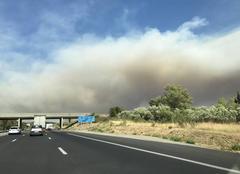 Catastrophe Coudoux 13111 Incendie en Provence