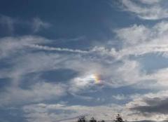 Ciel Sarrewerden 67260 Soleil Arc en Ciel.