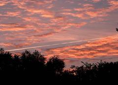 Ciel Nouaille-Maupertuis 86340 Coucher de soleil
