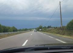 Orage Plelan-le-Grand 35380 Fort orage sur n24
