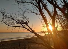 Ciel Saint-Augustin 17570 Joli coucher de soleil