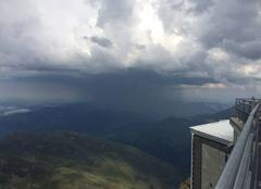 Orage Bagneres-de-Bigorre 65200 Orage depuis Pic du Midi