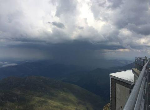 Orage depuis Pic du Midi