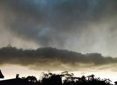 Ciel Biganos 33380 Arrivée de l'orage