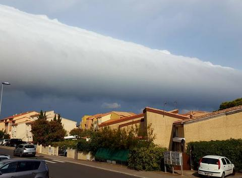 Rouleau de nuages
