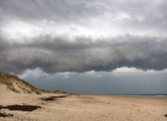 Orage Baubigny 50270 L'orage arrive ...