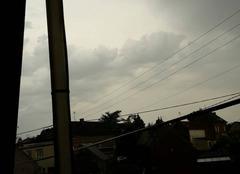 Orage Aubigny-au-Bac 59265 Début d'orage à Aubigny au bac  9h15