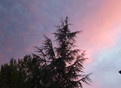 Orage Montluçon 03100 Ciel menaçant