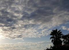 Ciel Pezenas 34120 Soleil à  l horizon ?