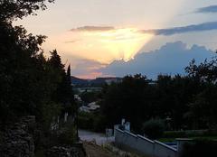 Nuages Bagnols-sur-Ceze 30200 Fin de soirée
