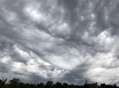 Nuages avant l'orage
