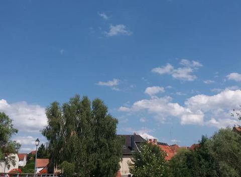 Temps chaud sur l'Alsace.