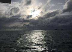 Ciel Ile-de-Hoedic 56170 Lever de Soleil
