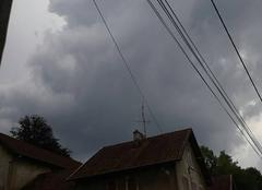 Pluie Morvillars 90120 Corbillard