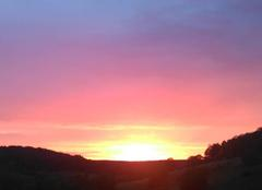 Nuages Laneuveville-Derriere-Foug 54570  coucher de soleil