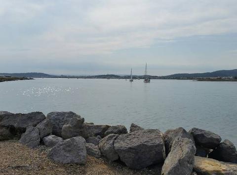Entrée du port de Gruissan