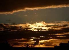 Ciel Niort 79000 Coucher de soleil