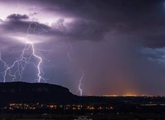 Orage Lagnieu 01150 Ambiances orageuses de l'ain