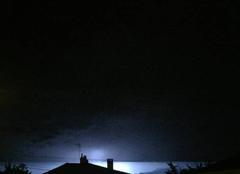 Orage Mours-Saint-Eusebe 26540 Orage hier soir