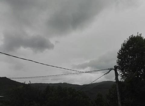 Pluie à 12:30 comme prévu